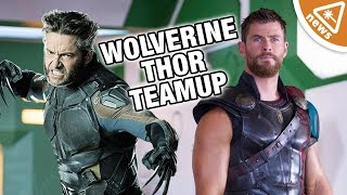 Could Wolverine Be Teaming Up with Thor in the MCU? (Nerdist News w/ Jessica Chobot)