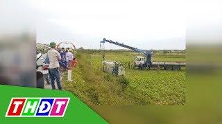 Nguyên nhân gây lật xe chở công nhân tại Nghệ An | THDT