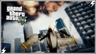 GTA V-Неудавшиеся Трюки и Самолетокрушения #4 (GTA 5 Аварии, Трюки)