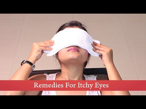 Video Home Remedies : Cold Compress for Itchy Eyes