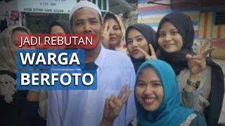 Diarak Warga dan Jadi Rebutan Foto, M Nuh Eks Pemenang Lelang Motor Jokowi Pulang Kampung