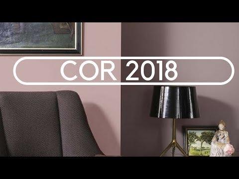 A COR DO ANO 2018: ADORNO RUPESTRE - POR TINTAS CORAL