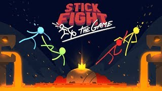 STICK FIGHT *NEW LAVA UPDATE* BOYFRIEND vs GIRLFRIEND! (Stick Fight: The Game)