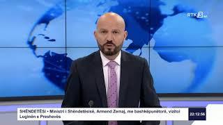 RTK3 Lajmet e orës 22:00 08.08.2020