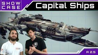 Star Citizen Capital Ships - Großkampfschiffe | Showcase [Deutsch/German]