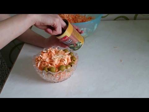 Вкусный рецепт салата с колбасным сыром! Просто и как Вкусно!