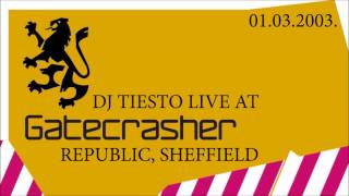 Tiësto Live At Gatecrasher 2003   Enjoy