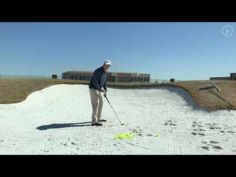 Where To Strike The Ball In The Sand