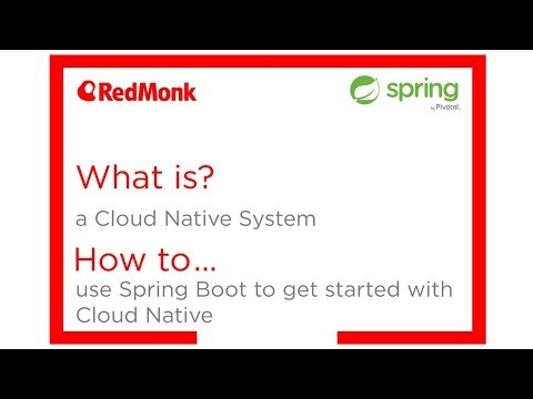 What is a Cloud Native System? How to use Spring Boot to get started with Cloud Native