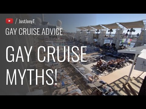 Gay Cruise Myths Debunked! | JustJoeyT #Travel