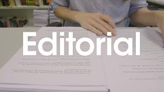 What does a book editor do?