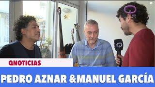 """Pedro Aznar Y Manuel García Grabaron Juntos """"La Reja"""""""