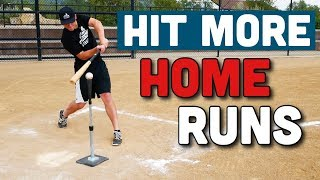 Try These 3 Tricks To HIT MORE HOME RUNS!