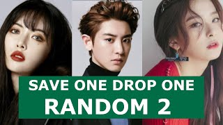 Random Save One Drop One 2 | Kpop Game