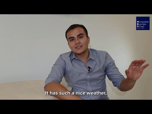 Juan, MBS international student (Colombia) – MSc