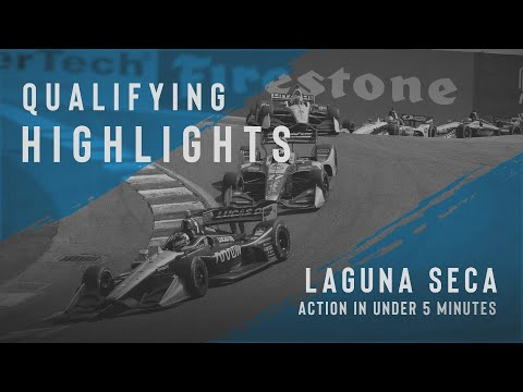 インディーカー第15戦 モントレー・グランプリ 予選タイムアタックのハイライト動画
