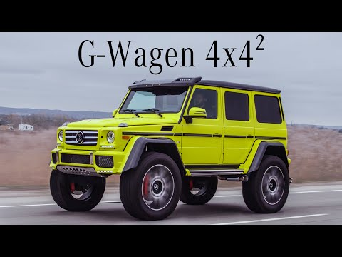 Mercedes G550 4X4 Squared Review