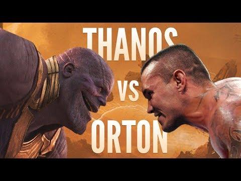 THANOS vs ORTON but it's awkward