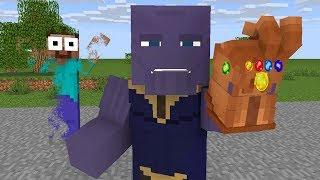 Monster School : AVENGERS ENDGAME Challenge - Minecraft Animation