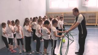Открытый урок по физкультуре в 1 классе МБОУ СОШ №26