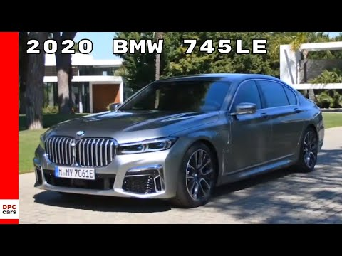"""2020 BMW 745Le xDrive Donington Grey With 20"""" M light alloy wheels"""
