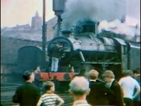 The Last Day of BR Mainline Steam 1968.