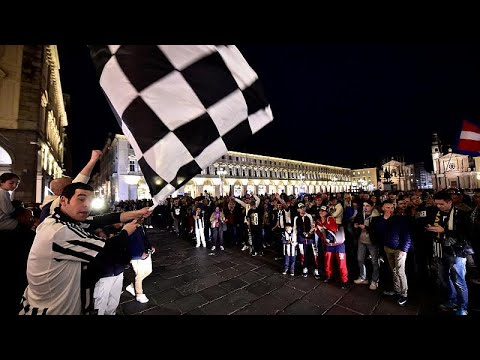 Πανηγυρισμοί στο Τορίνο για τη «Μεγάλη Κυρία»