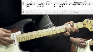 Jimi Hendrix - Highway Chile - Rock Guitar Lesson (w/Tabs)