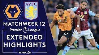 Wolves v. Aston Villa | PREMIER LEAGUE HIGHLIGHTS | 11/10/19 | NBC Sports
