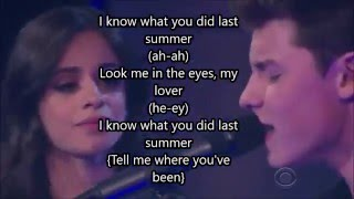Shawn Mendes, Camila Cabello - I Know What You Did Last Summer (lyrics)