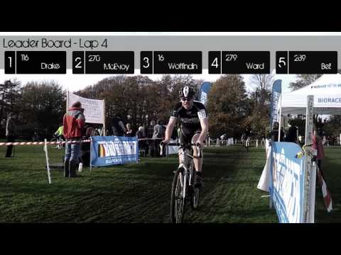Geoff Bewley Memorial 'cross – video