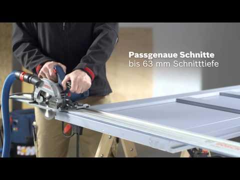 Bosch Handkreissäge GKS 55+ G Professional / GKS 55+ GCE Professional