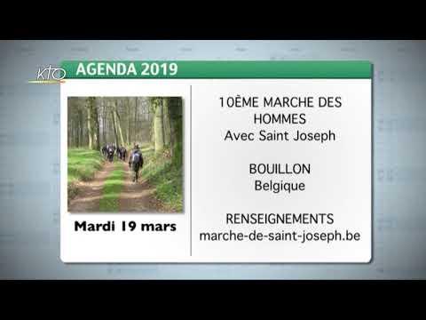 Agenda du 15 mars 2019