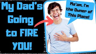 If You Say You're Related to the Owner, You'd Better Be. | Embarrassing Stories About Liars