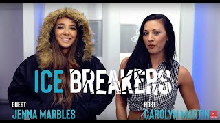 Jenna Marbles tries to bring her coat in the CRYO CHAMBER... We forgot Peach - ICE BREAKERS - S1E5
