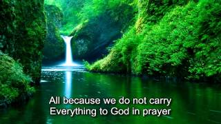Alan Jackson   What A Friend We have In Jesus with lyrics