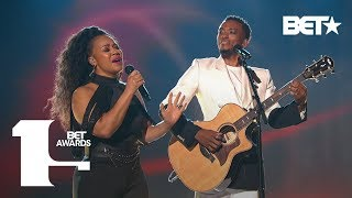 "Kirk Franklin, Jonathan McReynolds, Erica Campbell & Kelly Price ""Love Theory"" 