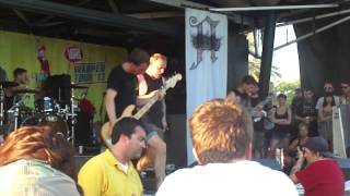 Architects - Follow the Water (ft Jason Butler of Letlive.) live Warped Tour 2013