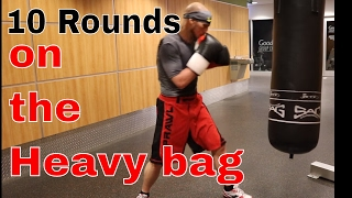 10 Round Heavy Bag Workout by Precision Boxing