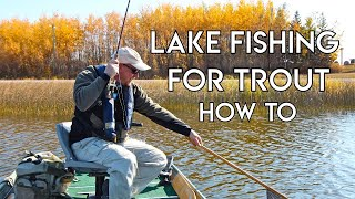 Lake Fishing For Trout - Stillwater Basics