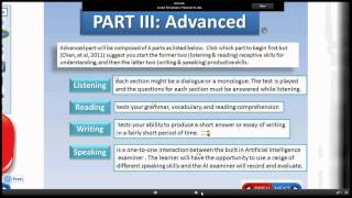 English Assessment for Newcomers (EAN)