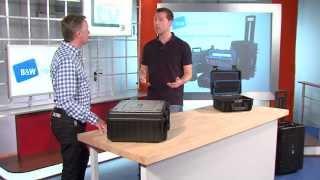 B&W tough.cases im Werkzeug TV Check von EDE TV
