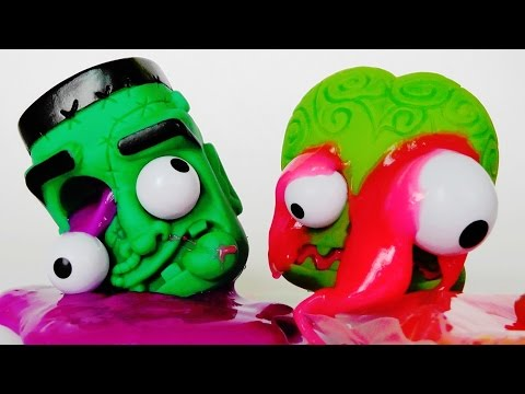 O Mocos Fluorescentes Monstruos Con Diver Slime Ye29bEIHWD
