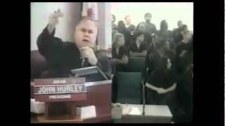Buffoon meets Judge - Adam Sandler