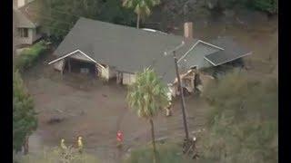 13 Dead in California Mudslides - LIVE BREAKING NEWS COVERAGE