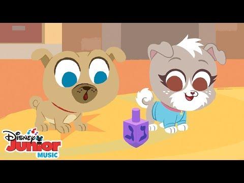 Dreidel, Dreidel, Dreidel   🎶 Disney Junior Music Nursery Rhymes   Disney Junior