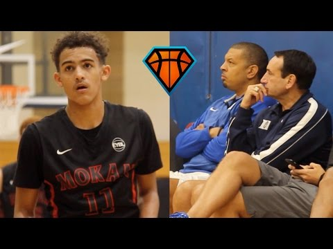 Trae Young LIGHTS UP Peach Jam In Front Of Coach K!!   OFFICIAL Mixtape Vol. 1