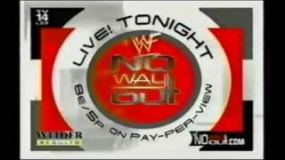 WWE No Way Out 2001 (2001) Video
