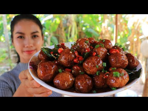 Yummy cooking chicken meatballs recipe - Natural Life TV Cooking