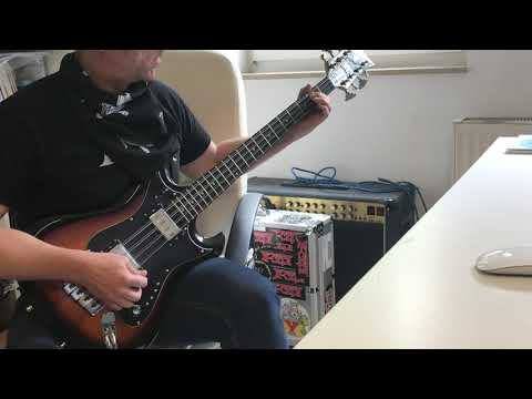Manowar - Gates Of Valhalla bass cover, Hagstrom H8